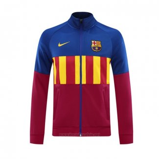 Giacca FC Barcellona 2020 2021 Rosso